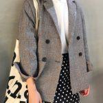 Kol Uçları Tarz Blazer Ceket