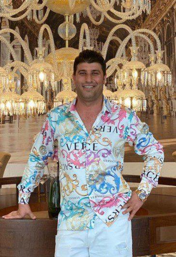 Osman Yavuz Versace Gömlek