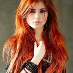 Uzun Alev Saç Rengi