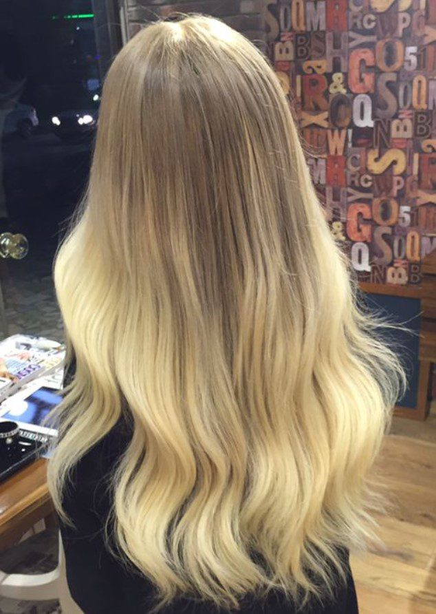Uzun Bebek Kumral Saç