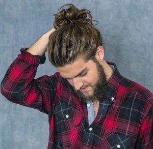 Uzun Dalgalı Erkek Saç Stili