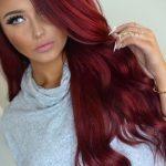 Uzun Kızıl Saç Model