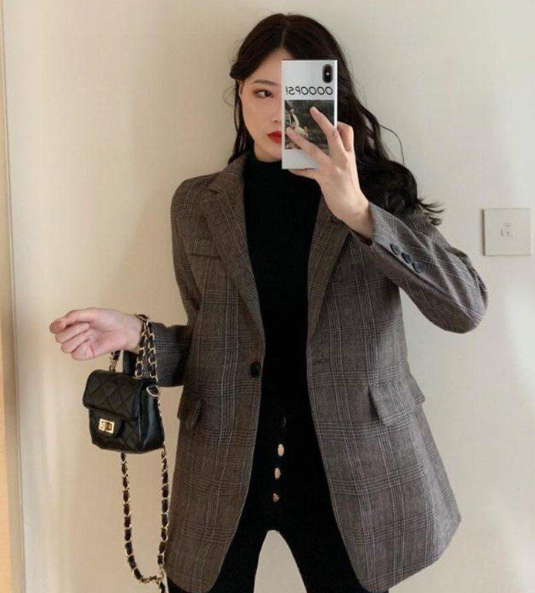 Vintage Kadın Ceket Modeli