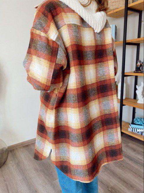 3 Renk Kadın Oduncu Gömleği