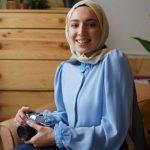 Aslı Afşaroğlu Mavi Gömlek Kot Kombin