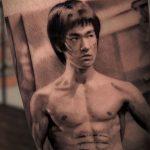 Bruce Lee (Enter the Dragon) Dövme Modeli