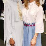 Halima Aden Tesettür Abiye Modeli