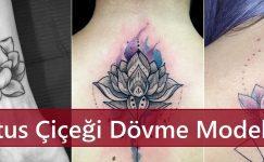Lotus Çiçeği Dövme Modelleri
