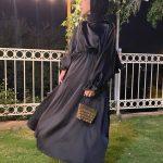 Rumeysa Yağcı Siyah Elbise Kombin