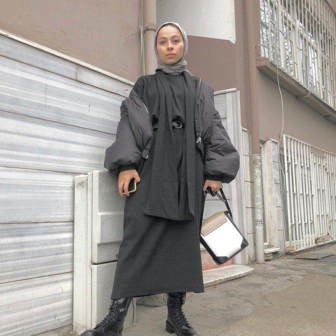 Rümeysa Yağcı Tesettür Elbise Modeli