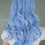 Açık Mavi Saç Tarzı