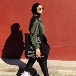 Ayşenur Coşkun Yeşil Gömlek Siyah Pantolon