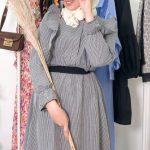 Ceren İzgi Tesettür Elbise Modeli