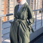 Ceyda Öztürk Açık Yeşil Kuşaklı Tunik