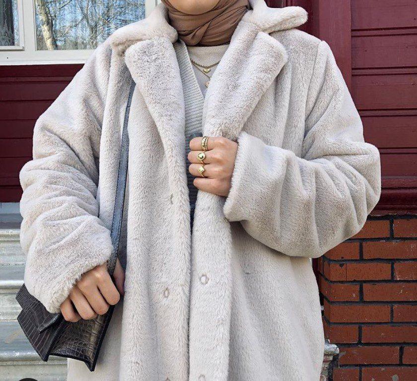 Ceyda Öztürk Polar Kaban Modeli