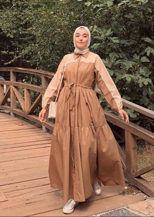 Ceyda Öztürk Şifon Elbise