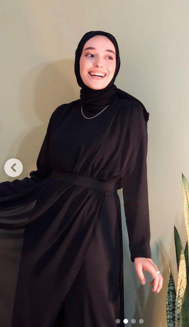 Ceyda Öztürk Tesettür Abiye Elbise
