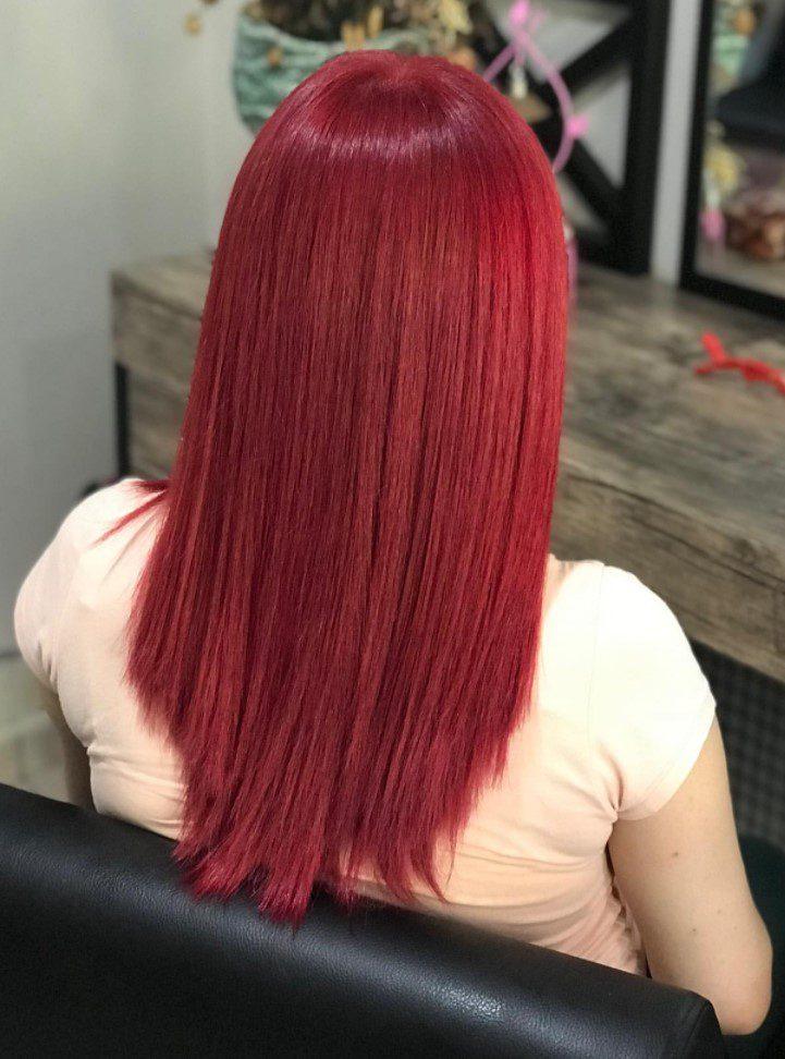 Çilek Kırmızı Saç Rengi