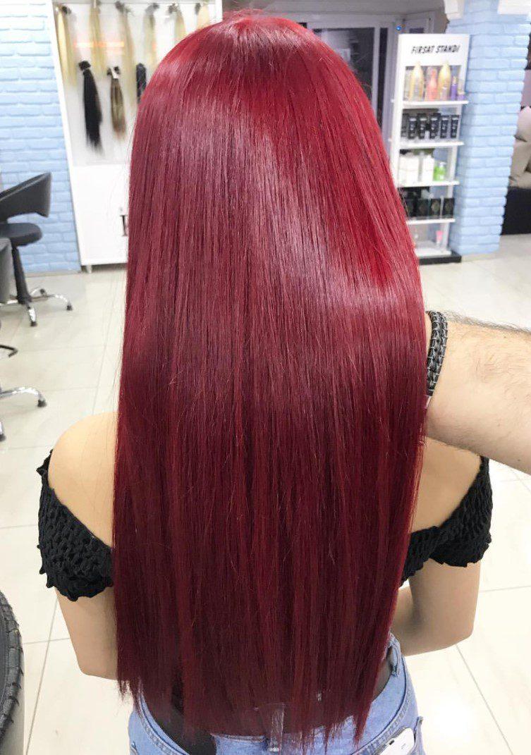 Çilek Kırmızı Saç Renkleri