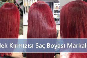 Çilek Kırmızısı Saç Boyası