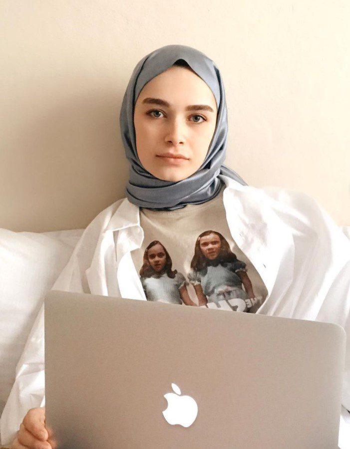 Elif Sezer Beyaz Gömlek Modeli