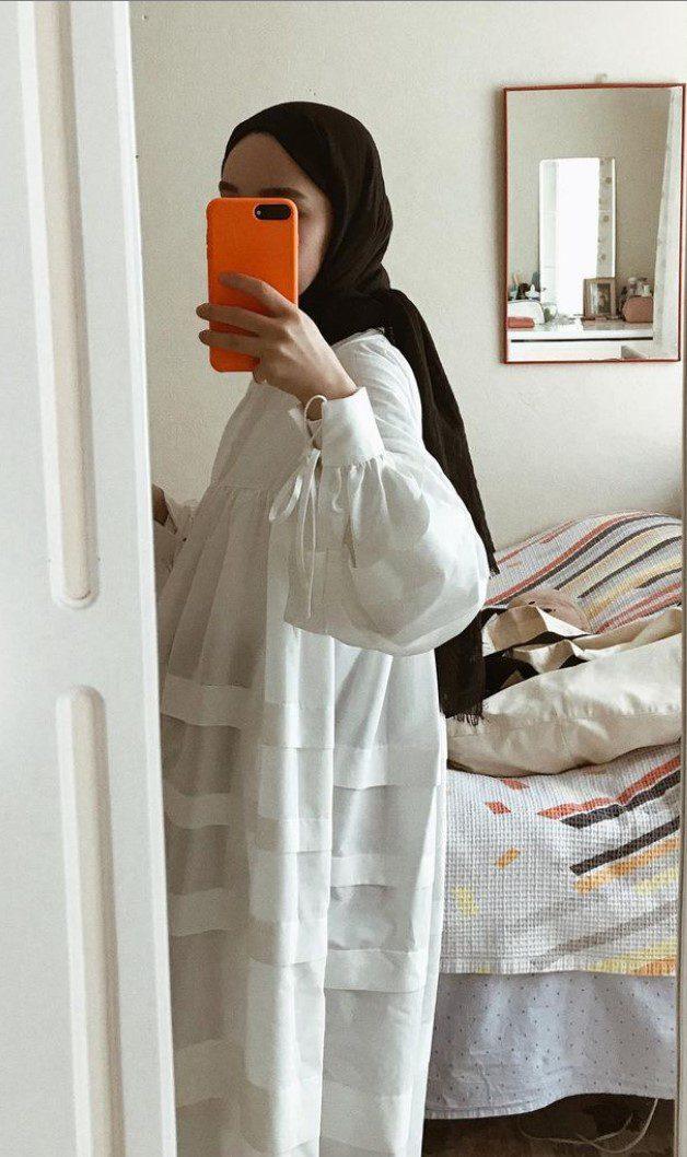 Elif Sezer Beyaz Yazlık Elbise