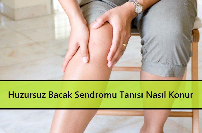 Huzursuz Bacak Sendromu Tanısı Nasıl Konur