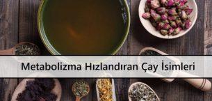 Metabolizma Hızlandıran Çay İsimleri