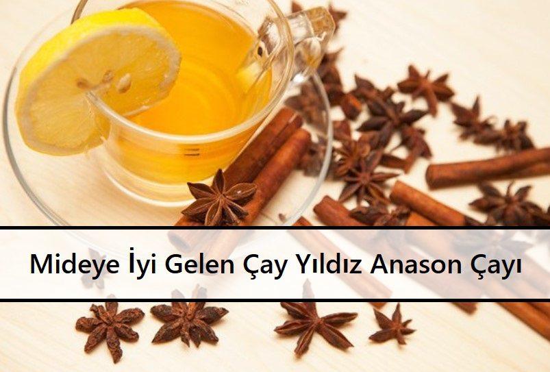 Mideye İyi Gelen Çay Yıldız Anason Çayı