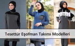 Tesettür Eşofman Takımı Modelleri