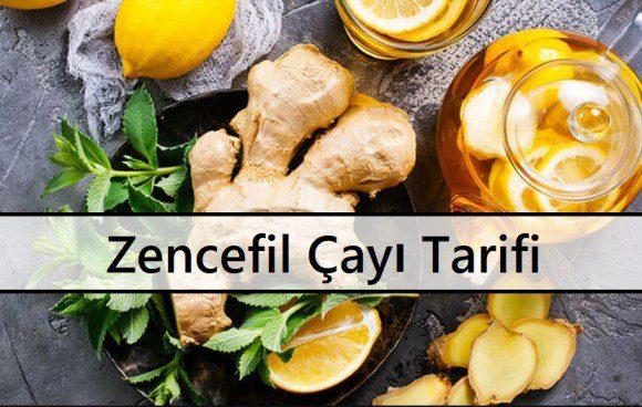 Zencefil Çayı Tarifi