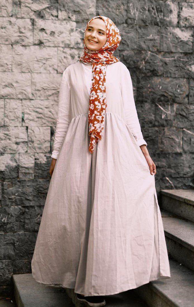 Zeynep Yalçınkaya Geniş Etekli Elbise