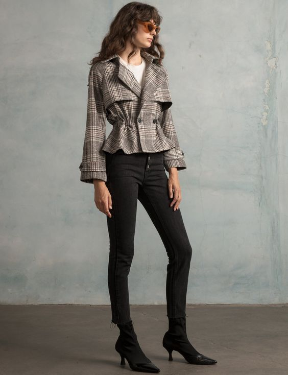 baharlık peplum ceket modeli