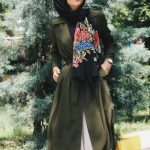 bayram kombini yeşil elbise
