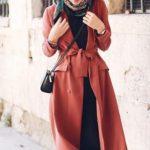 kahverengi bayram kombini elbise