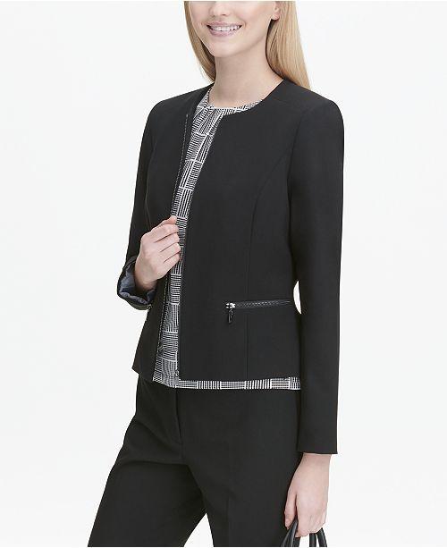 siyah elegant peplum ceket