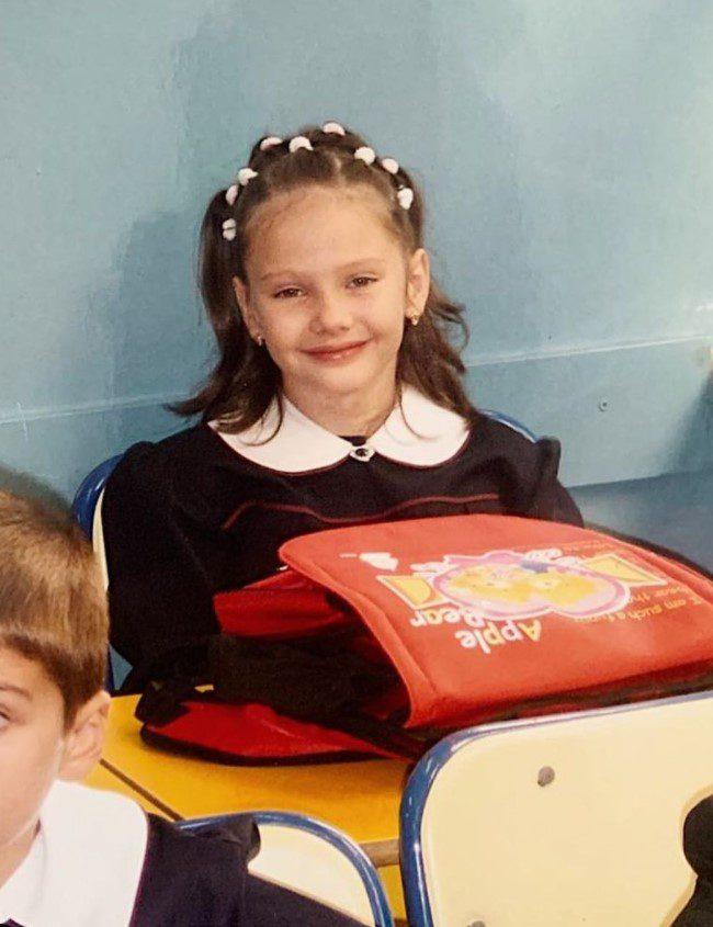 Alina Boz Çocukluk Fotoğrafı