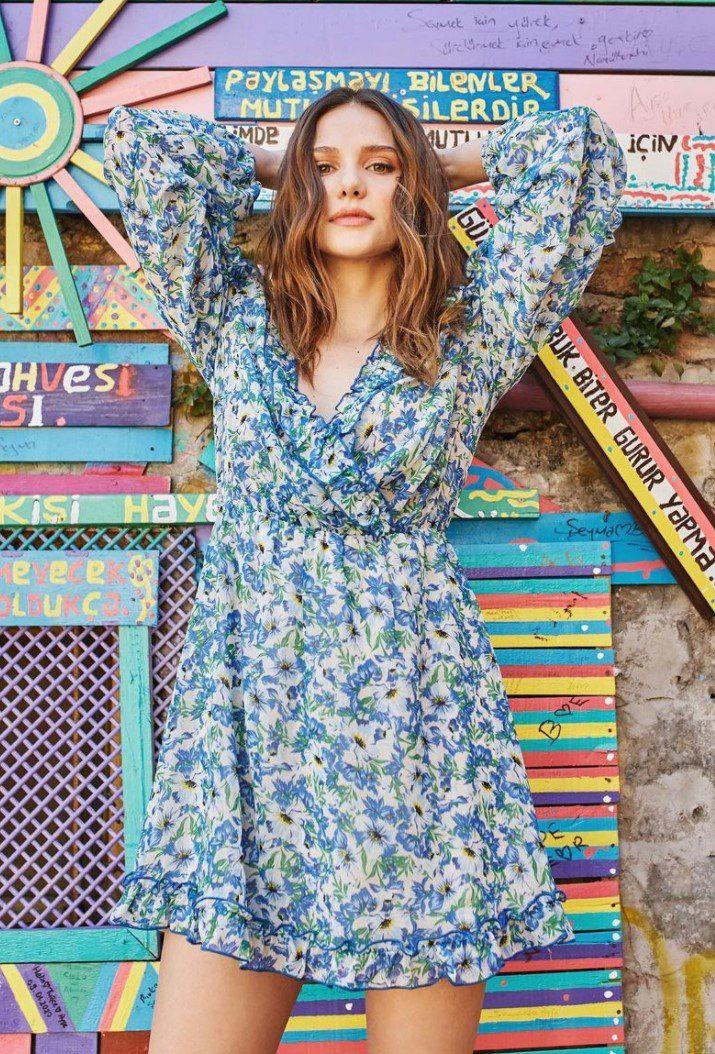 Alina Boz Elbise Modeli