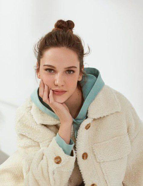 Alina Boz Toplu Saç Modeli