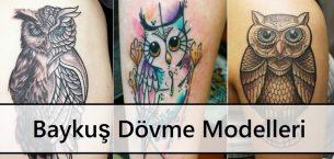 Baykuş Dövme Modelleri