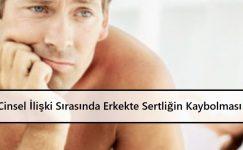 Cinsel İlişki Sırasında Erkekte Sertliğin Kaybolması Sorunu   Tedavisi