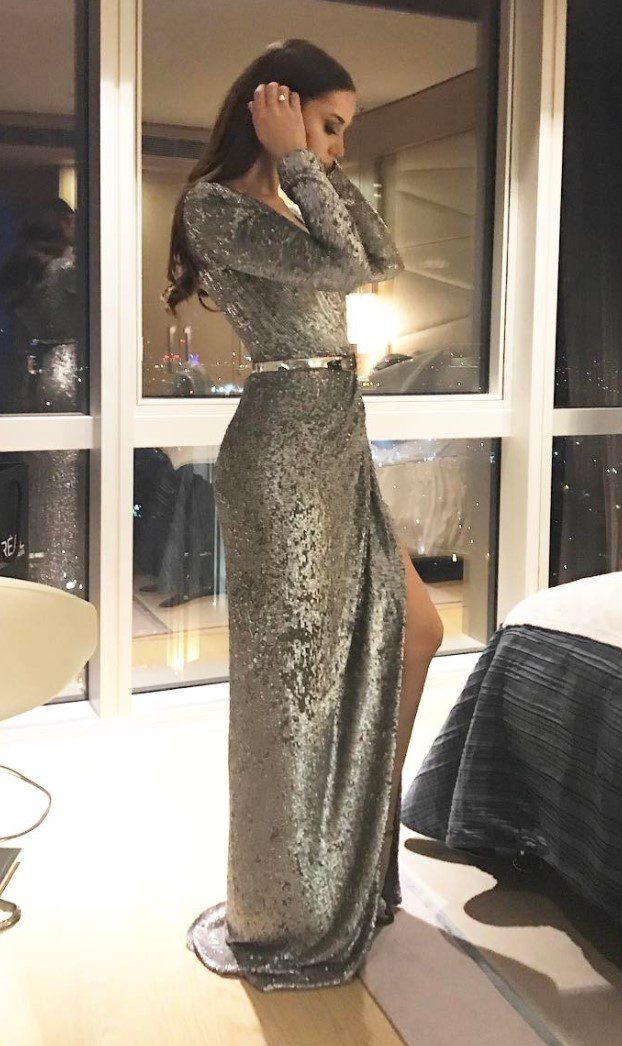 Fahriye Evcen Abiye Modeli