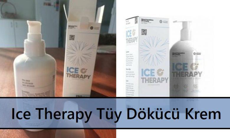Ice Therapy Tüy Dökücü Krem Ne İşe Yarar