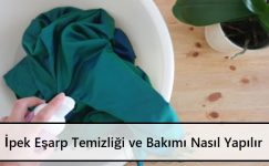 İpek Eşarp Temizliği ve Bakımı Nasıl Yapılır