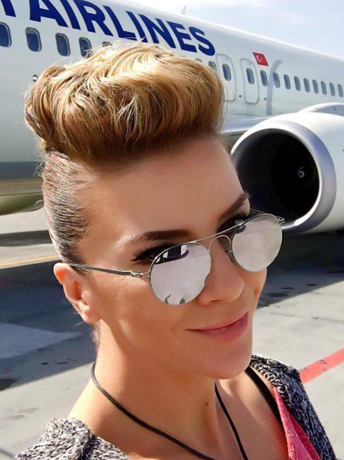 Ivana Sert Değişik Saç Stili
