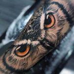 Kola Baykuş Dövmesi