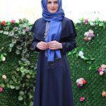 Lacivert Elbisenin Üstüne Hangi Renk Şal Gider mavi