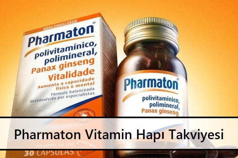 Pharmaton Vitamin Hapı