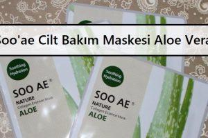 Soo'ae Cilt Bakım Maskesi Aloe Vera