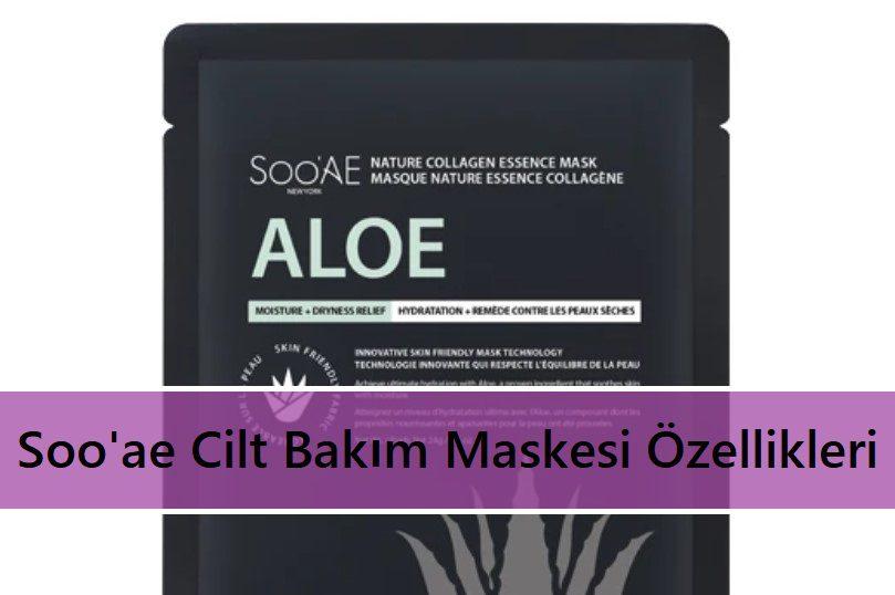 Soo'ae Cilt Bakım Maskesi Özellikleri